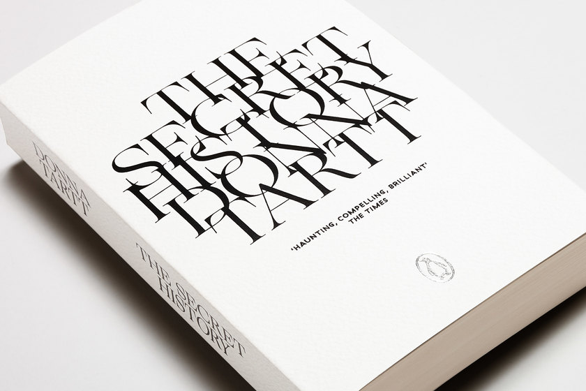 The Secret History cover 3, design by Praline