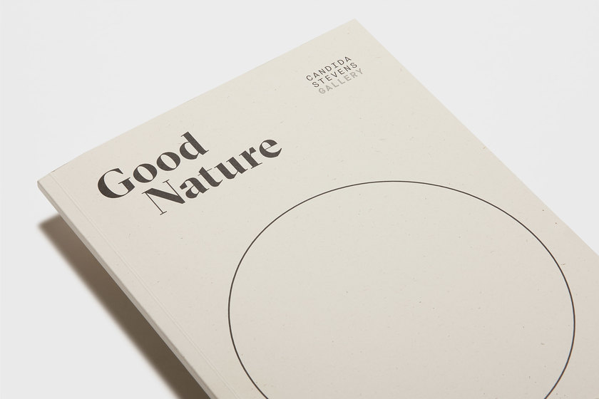 Good Nature detail, Candida Stevens, design by Praline