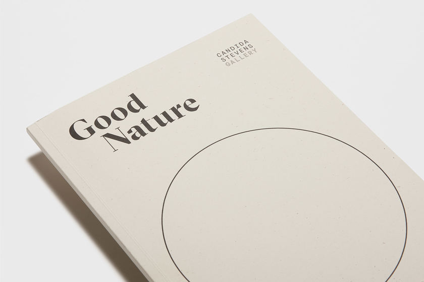 Good Nature cover, design by Praline